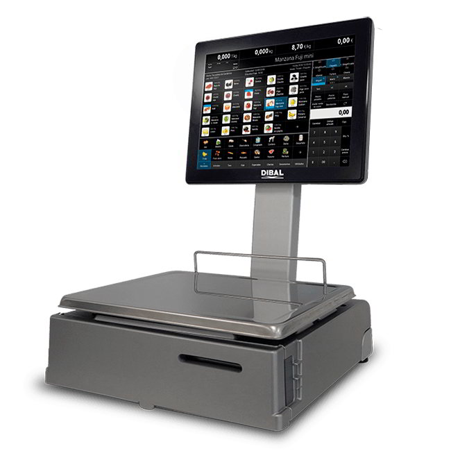 Весы компьютерные самообслуживание Dibal CS-1200